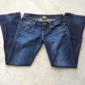 Lucky Brand 4/27 Lola Bootleg Short Inseam Jeans